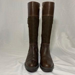 Blondo Vitalia Waterproof Leather Riding Boots